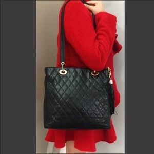 🔥Quilted Lambskin Tote